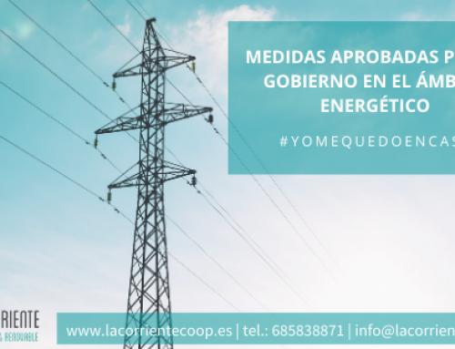 Medidas del Gobierno para frenar la COVID-19 en el ámbito energético