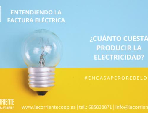 Entendiendo la factura eléctrica, ¿cuánto cuesta producir la electricidad?